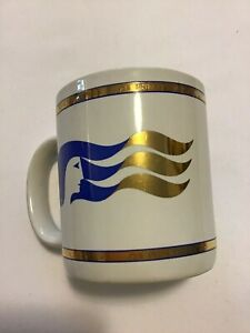 PRINCESS CRUISES CORPORATE Unique Logo Mug Pre-Owned COLLECTIBLE