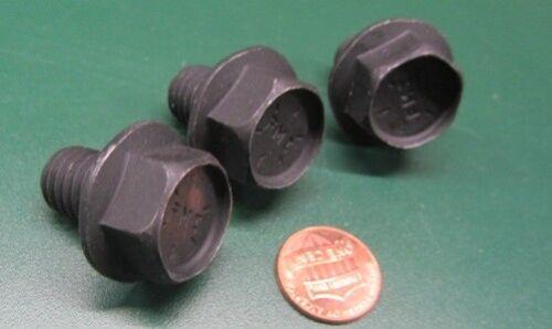"Steel Grade 8 Flanged Cap Screw Bolt FT 10Pc 1//2/""-13 x 3//4/"" Length Black"