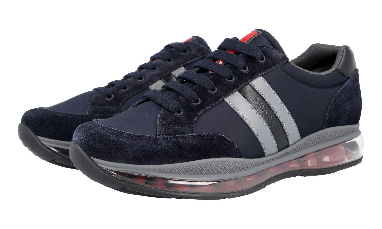 shoes PRADA LUSSO 4E3156 blue NUOVE 9,5 43,5 44