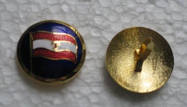 Emblemer, Kasket / Emalje mærke / Bolcheknap Rederi T