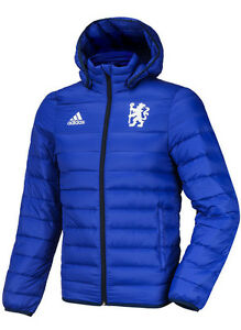 Adidas Chelsea FC Light Down Jacket AH5615 Warm Parka Training ... 86578453d