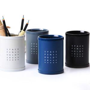 Pen Pencil Organiser Cup Holder Bucket Stationery Storage Office School Supplier