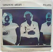 TANGERINE DREAM POLAND THE WARSAW CONCERT 2 LP GATEFOLD 1984
