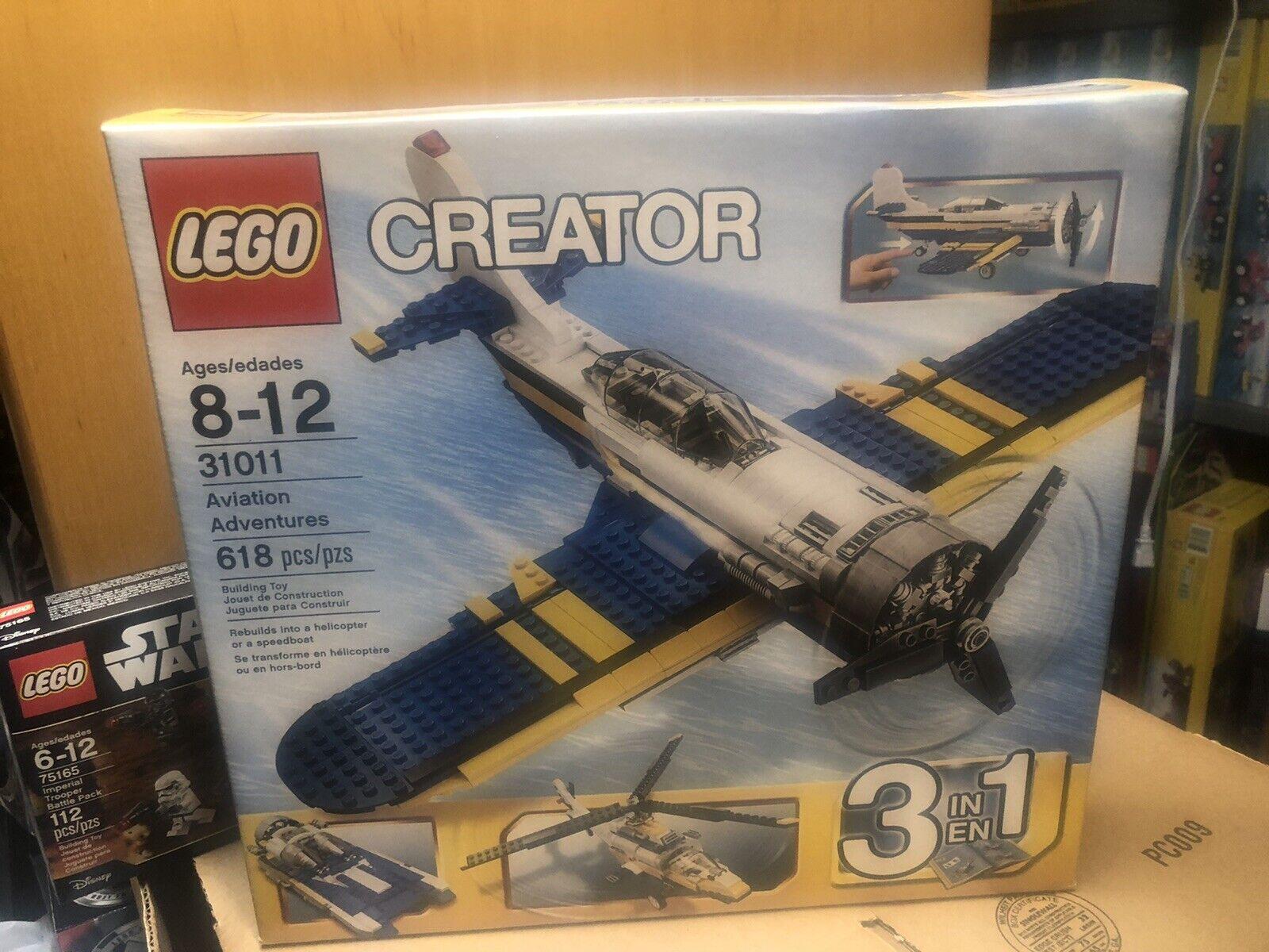 NEW LEGO Creator 31011 Aviation Adventures Retirot