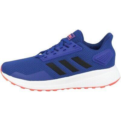 Adidas Duramo 9 K Laufschuhe Schuhe Freizeit Sport Sneaker Schnürer blue EG7906