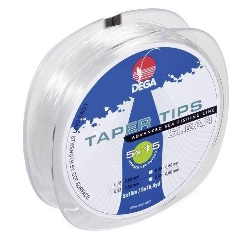 Dega Taper Tips 0,28mm-0,60mm Schlagschnur