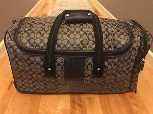 Coach Wheeled Duffle Bag