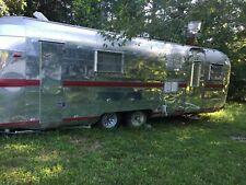 Vintage Streamline Camper 8 X 25 Food Concession Trailer With Bathroom For Sal