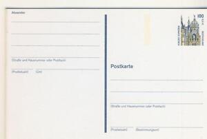 2 frankierte Postkarten