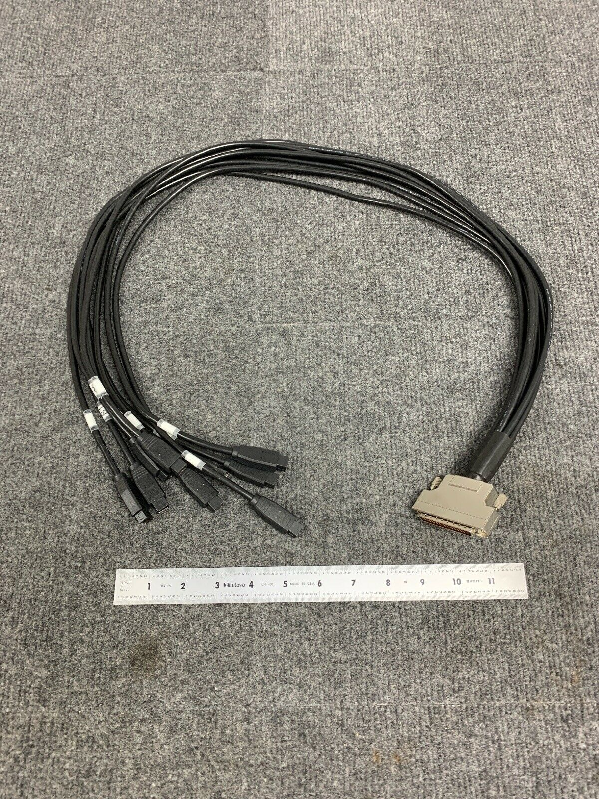 Lot of 3*** 3' 1394b FIREWIRE to Serial Port PMC3CH3FBM Connector