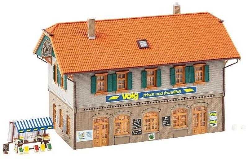 Faller 130595 abitazione con negozio di villaggio, KIT, traccia h0