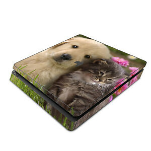 Faceplates, Decals & Stickers Cute Puppy Kitty Do You Want To Buy Some Chinese Native Produce? Supply Sony Ps4 Slim Skin Decal Sticker Vinyl Wrap