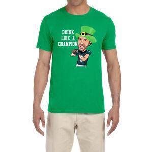 sports shoes 29ab3 20b7d Details about Philadelphia Eagles Nick Foles St Patrick's Day T-Shirt