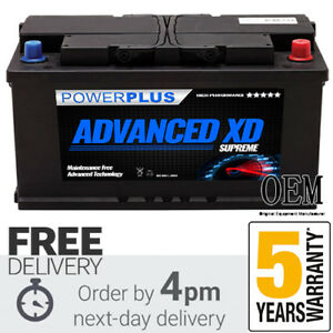 Image Is Loading Advanced 019xd Car Battery 100ah 900cca 5yr Warranty