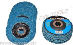 """Lot of Premium Zirconia Flap Disc Grinding Wheel 7/""""x7//8/"""" 10 100 Grit"""