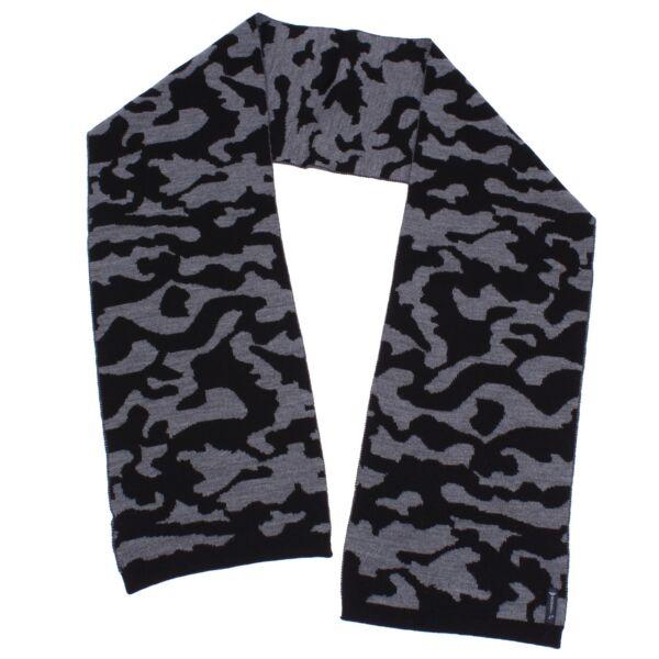2019 Moda 9712x Sciarpa Unisex Armani Jeans Green/black Wool Scarf Unisex Portare Più Convenienza Per Le Persone Nella Loro Vita Quotidiana