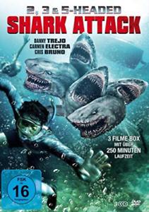 Trejo-Danny-Electra-Carmen-2-3-amp-5-Headed-Shark-Attack-UK-IMPORT-DVD-NEW