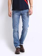 Export surplus, Men's light Blue Delta Tampered Slim Fit Jeans,