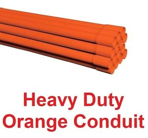 Electric-Orange-Hd-40mm-Heavy-Duty-Underground-Cable-Conduit-Duct-Wholesale