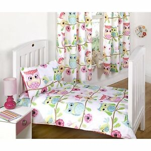 Owl and Friends Bedroom Range - Bedding Curtains Rug Cushion ...