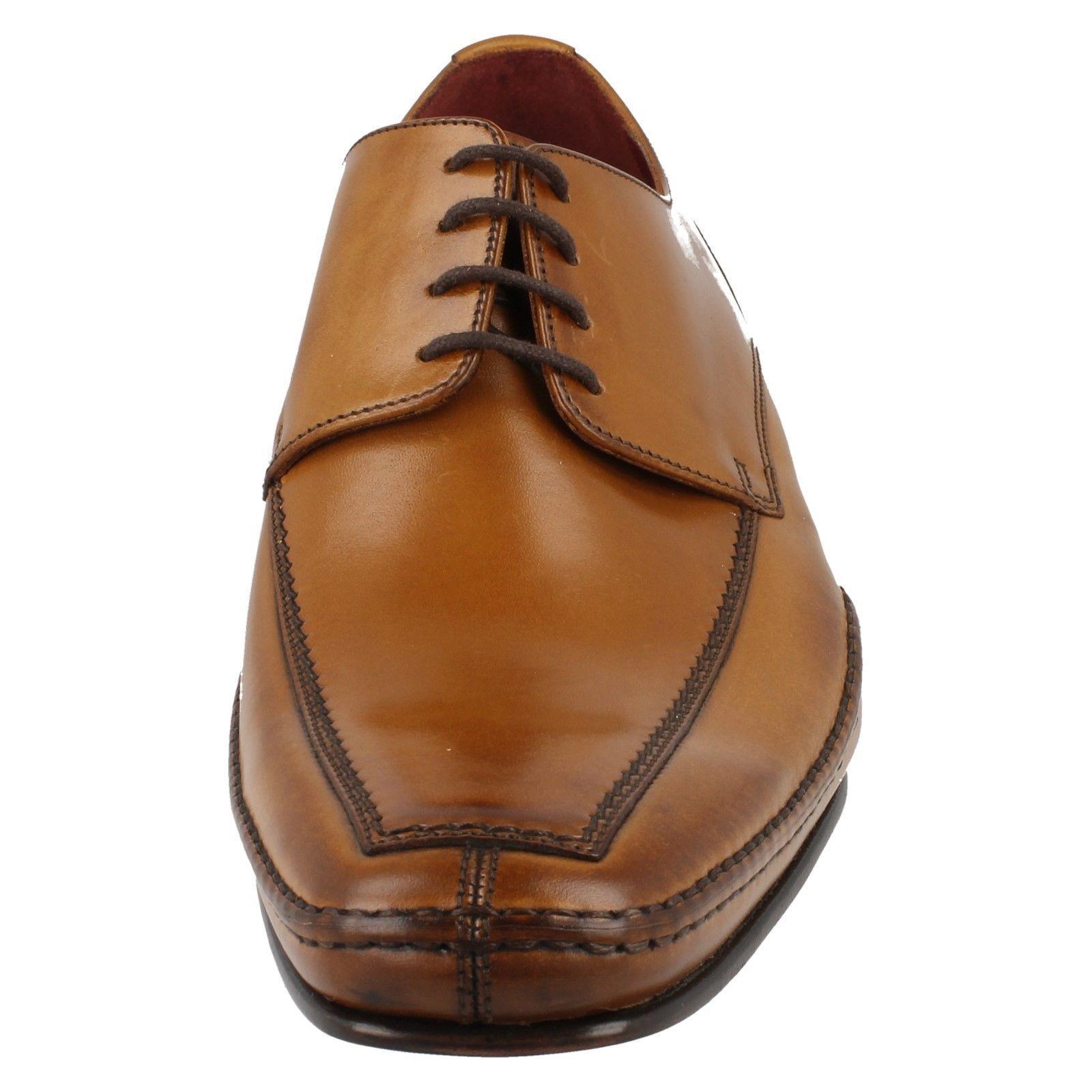 Herren Hurst F Fassung Fassung Fassung hellbraunes Leder Schnürer Schuhe von Loake b98c2e