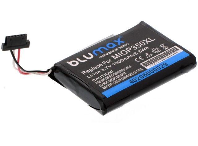 Blumax Power Akku für Bluemedia BM 6300 Accu Batterie 1500mAh Neu