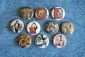 """Texas Chainsaw Massacre Leatherface Horror movie Buttons Pins 1"""" Badges Pinback"""