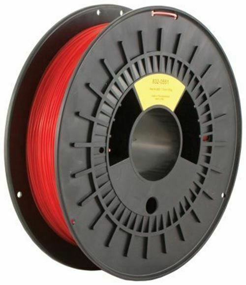 RS PRO 1.75mm Red M-ABS 3D Printer Filament, 500g