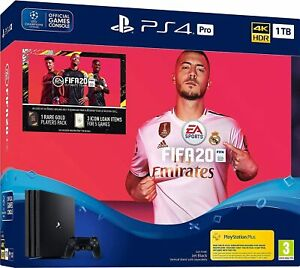 PS4 Pro CUH-7216B 1TB + FIFA 20 New *No Outer Sleeve*
