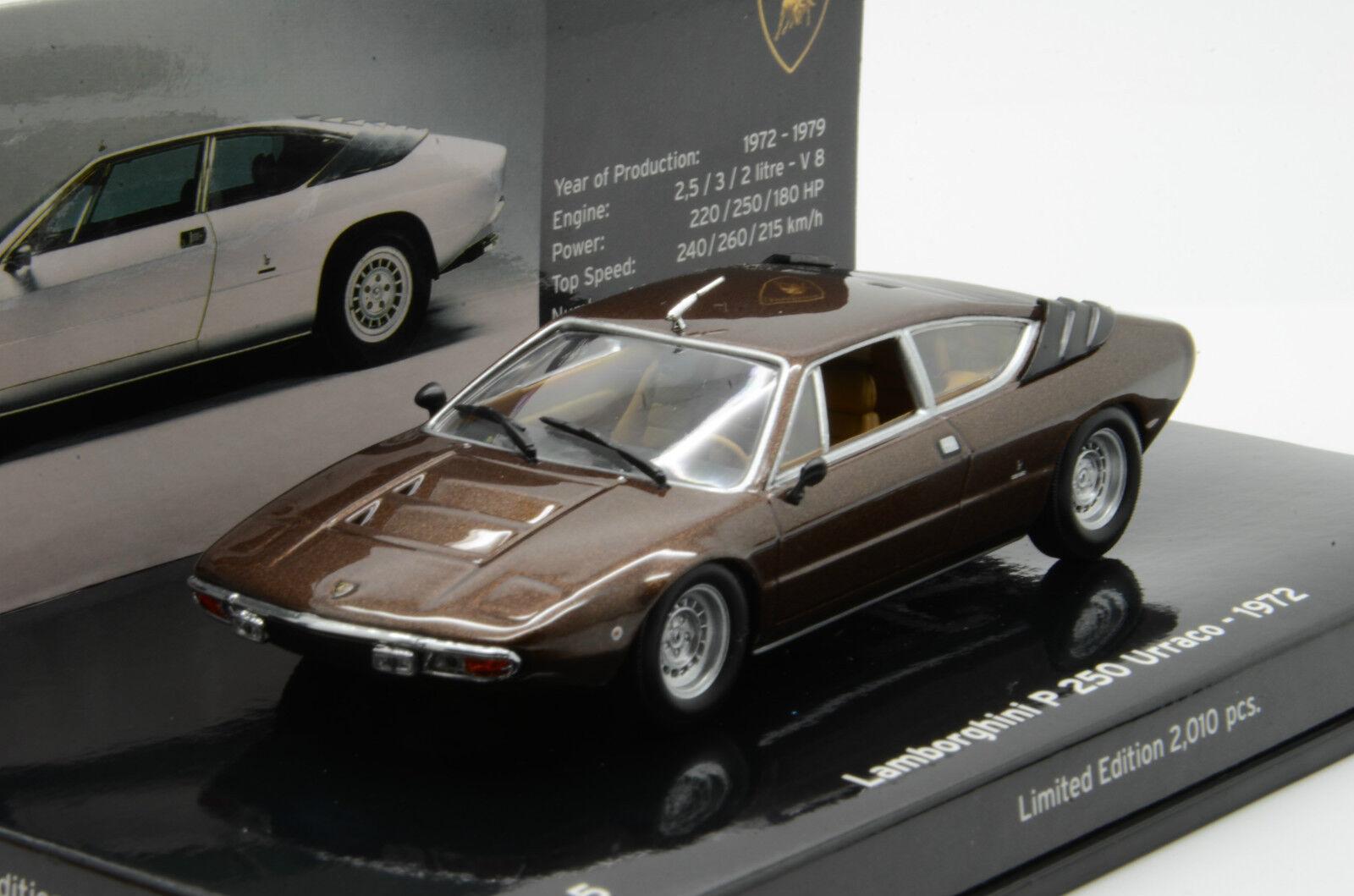 rara    Lamborghini P 250 Urraco 1972 No.5 Minichamps 1 43