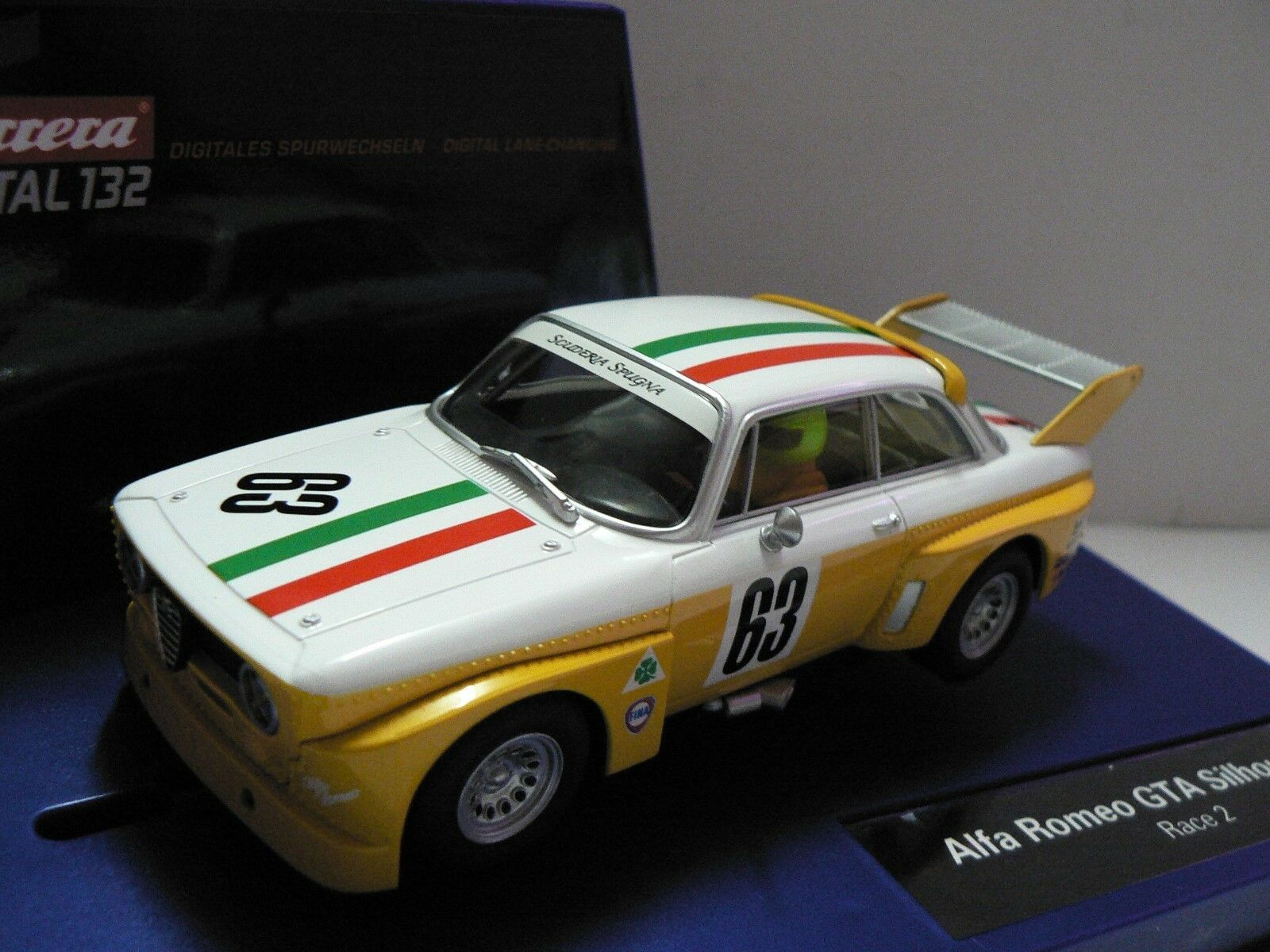 Carrera Digital 132 30625 Alfa Romeo Gta Silhouette Race 2 New