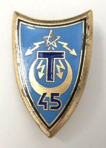 45-Regiment-de-Transmissions-bleu-epingle-sertie