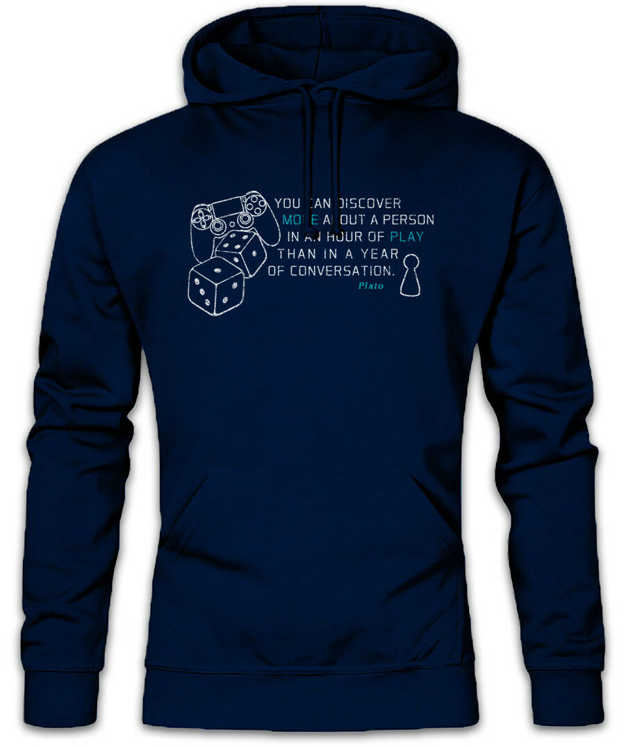 Plato You Can Discover More About A Person Hoodie Sweatshirt Philosopher Quote