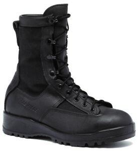 Genuine-US-Army-Belleville-700V-Black-Goretex-Flight-Combat-Boots-NEW-in-Box