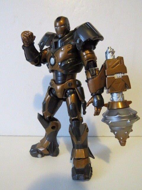 Marvel - film  iron man  - serie unterirdische rstung ironman - action - figur