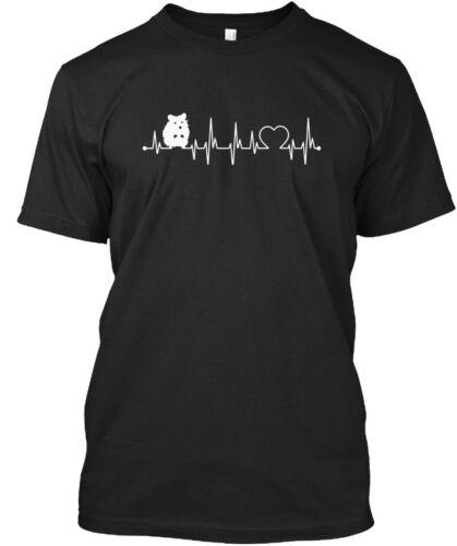 Hamster Always In My Heartbeat 7 Standard Unisex T-shirt
