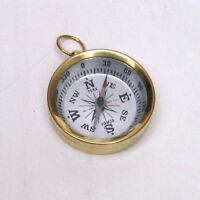 2 Pocket Brass Compass - Compass - Scout- Hiking - Camping