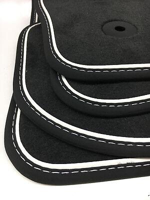 Trendmarkierung $$$ Original Lengenfelder Fußmatten Für Seat Tarraco + Nubuk Weiss + Maß + Neu Grade Produkte Nach QualitäT