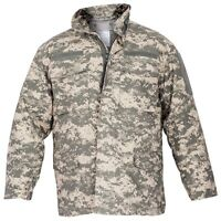 Field Jacket Rothco M65 M-65 W/removable Liner W/hood Digital Acu Camouflage