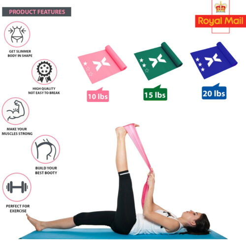 New Resistance Loop Bands Assisted Pull Up Power Yoga Exercise Stretchable Band