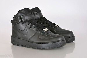 6977b32fb1b Nike Air Force 1 GS Boys Girls Kids Junior Mid Top Trainers Shoes ...