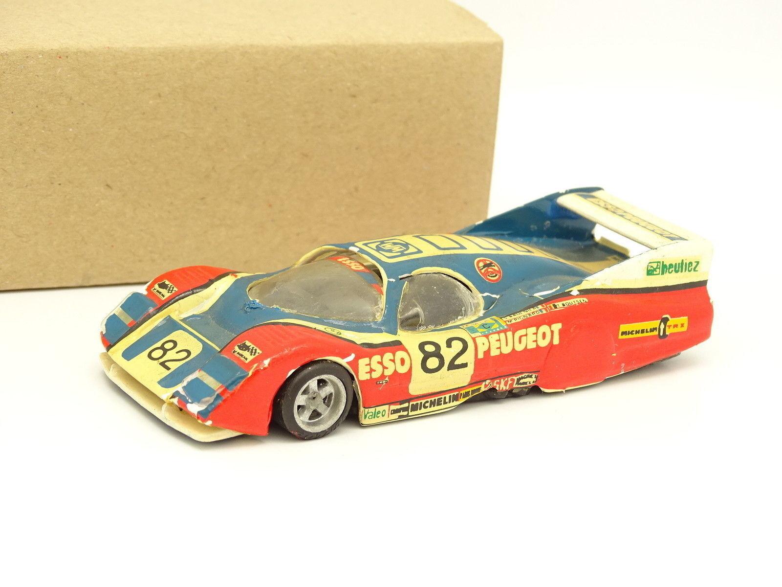 Grand Prix 43 Kit Monté Métal 1 43 - WM Peugeot P81 Groupe C Le Mans 1981