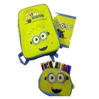 MINIONS rucksack 1 tasche mit album e farben fall abnehmbare von kind