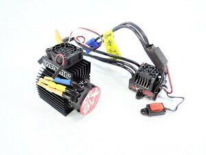 Arrma-Outcast-4s-2400KV-4-Pole-Brushless-Motor-amp-BLX120-ESC-Fan-Heatsink-Kraton