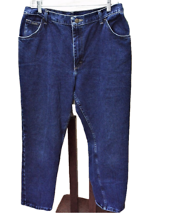 Wrangler-Womens-16X30-Mom-Jeans-Relaxed-Fit-Cotton-Classic-Rise-Tapered-Leg-Blue