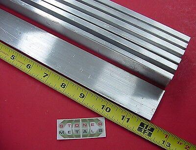 "7 Pieces 1//4/"" X 1-1//2/"" ALUMINUM 6061 FLAT BAR 12/"" long T6651 New Mill Stock .25/"""