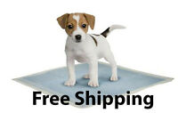 25 - Dog Puppy 23x24 Pet Housebreaking Pad, Pee Training Pads, Underpads