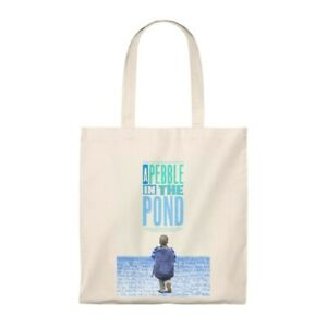 A Pebble in the Pond Poster Tote Bag - Vintage