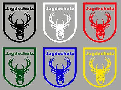 Forstschutz ***Aufkleber Wildseelsorge Autoaufkleber für Jäger*** Jagdschutz