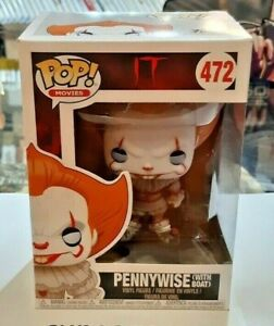 n Funko Pop Pennywise with Boat NUOVO SIGILLATO 472 IT